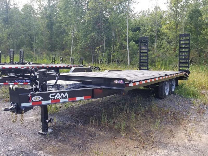 2019 Cam Superline 8.5X22 Deckover Equipment Trailer