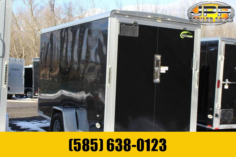 "2020 NEO 6X12 Enclosed Cargo Trailer w/ 6"" Extra Height Rear Ramp Door"