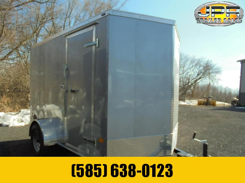 2021 American Hauler 6X10 Enclosed Cargo Trailer - Pewter
