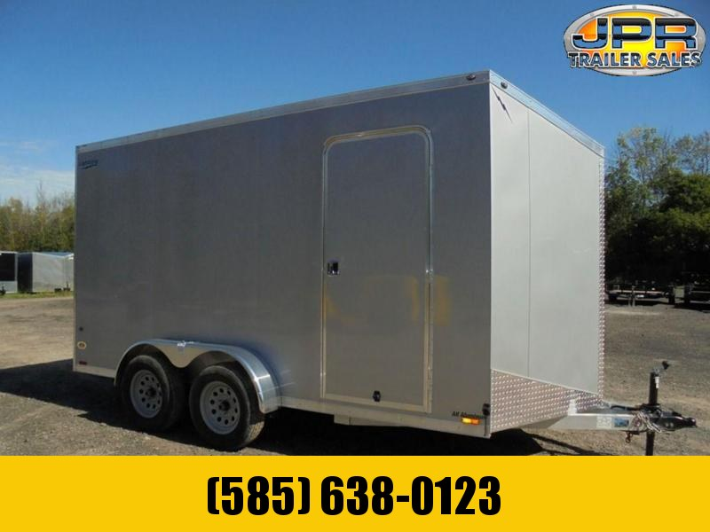 "2021 Lightning 7x14 Enclosed Cargo Trailer w/ Ramp Door & Extra 12"" Interior"