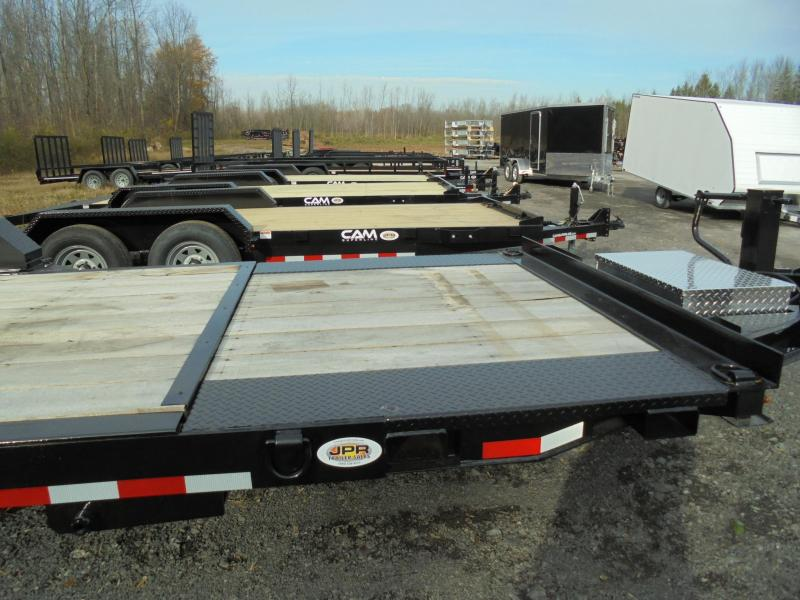 2021 Cam Superline 21 Ft (16+5) Split Deck Tilt Equipment Trailer