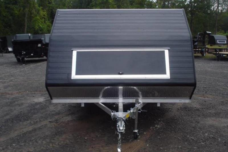 2020 Lightning Trailers 11' Avalanche Crossover Snowmobile Trailer