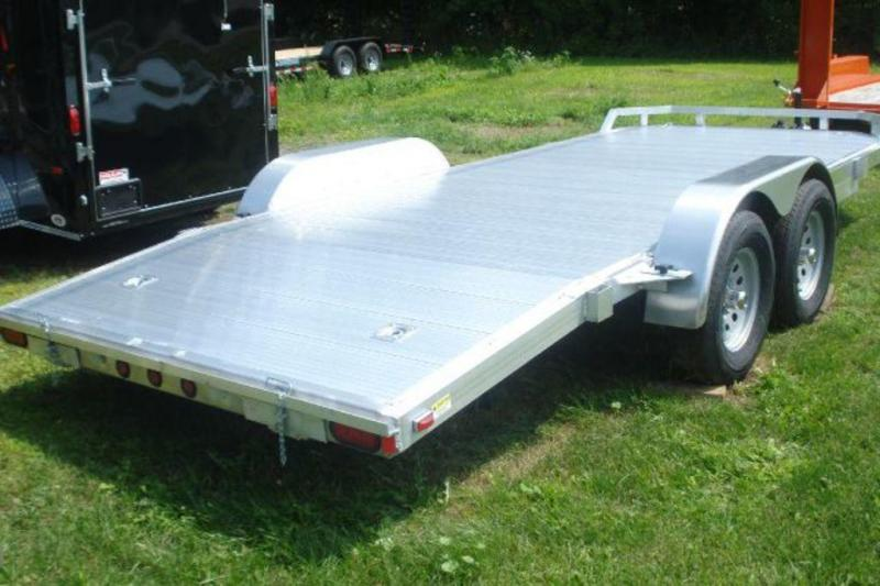 2020 Continental Cargo 7X18 Open Aluminum Car Trailer