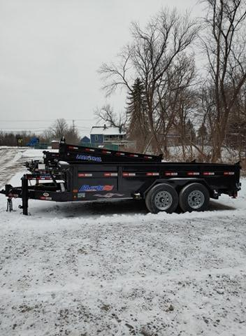 2021 Liberty 7x14 Low Pro HD Dump Trailer
