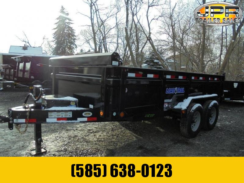 """2020 Load Trail 7X14 Dump Trailer with 24"""" Sides"""