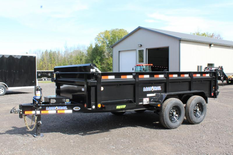 2021 Load Trail 7X14 Dump Trailer with 24