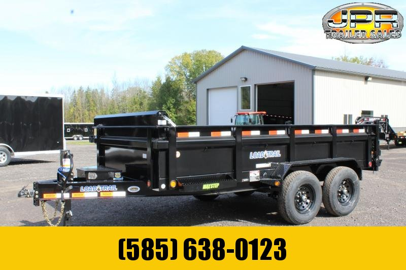 "2021 Load Trail 7X14 Dump Trailer with 24"" Sides"