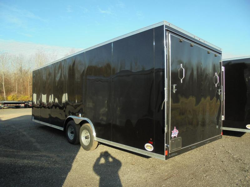 """2021 US Cargo 8.5X24 Enclosed Car Hauler with Extra 6"""" Height"""
