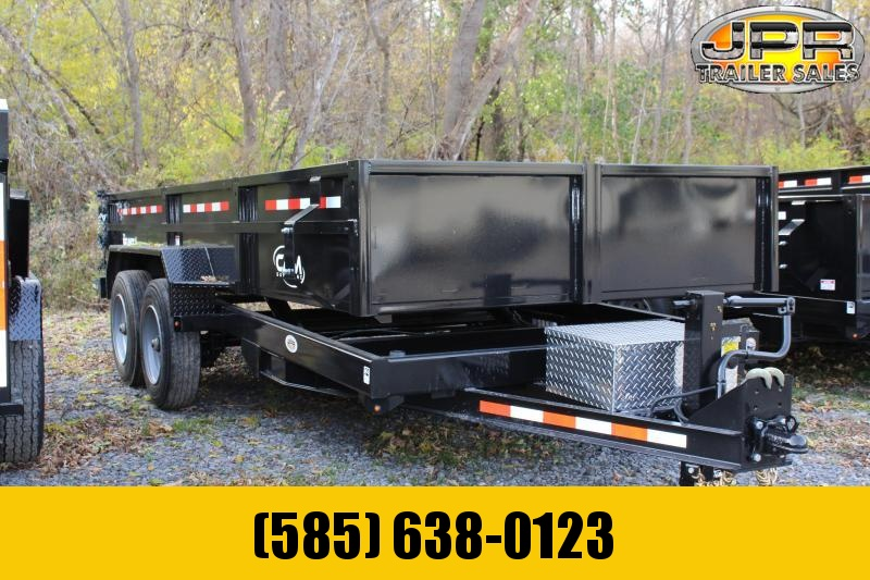 2021 Cam Superline 16' Low Pro HD Dump Trailer