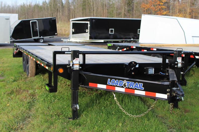 2021 Load Trail 24 Ft Tandem Axle Equipment Trailer