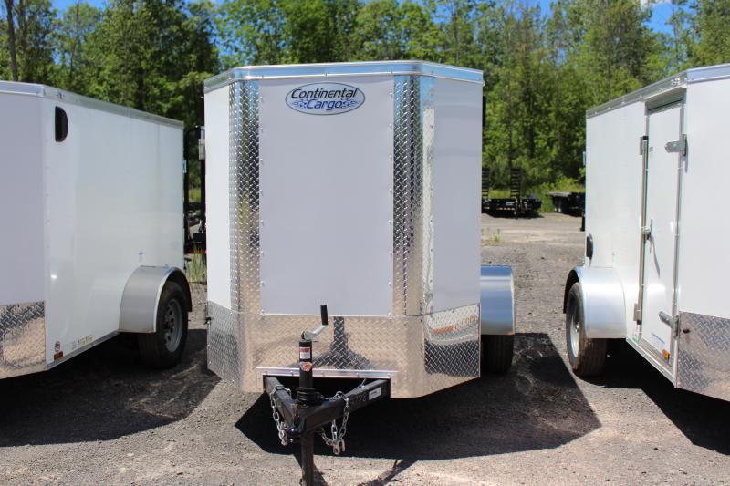 2021 Continental Cargo 5x8 Cargo Trailer Enclosed Cargo Trailer