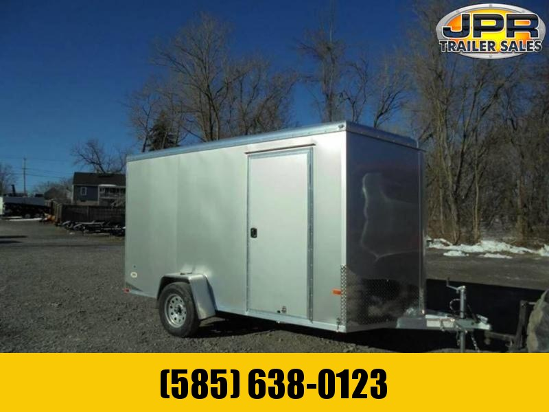 """2021 NEO 6X12 Round Top Enclosed Cargo Trailer w/ 6"""" Extra Height"""