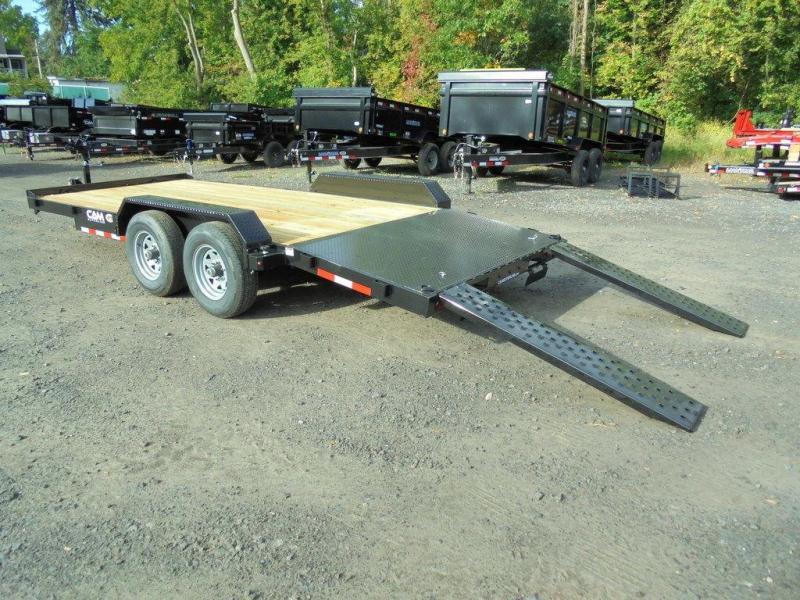 2021 Cam Superline 18 Ft Wood Deck Car Hauler GVWR-10K