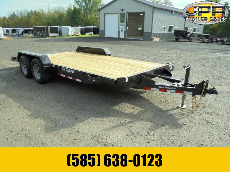 2021 Cam Superline 18 Ft Wood Deck Car Hauler GVWR-10K