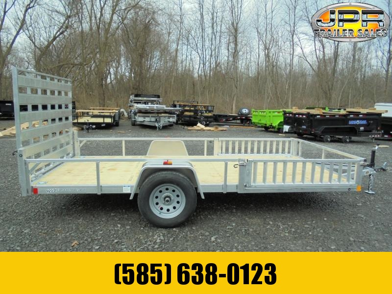 2021 Rough Rider 6.5x14 Aluminum Utility Trailer