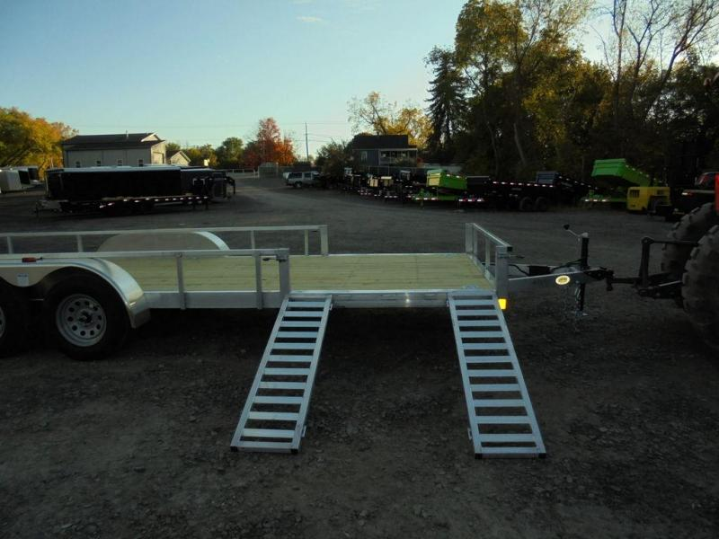 2021 Rance Aluminum 6.5X20 Aluminum Landscape Trailer