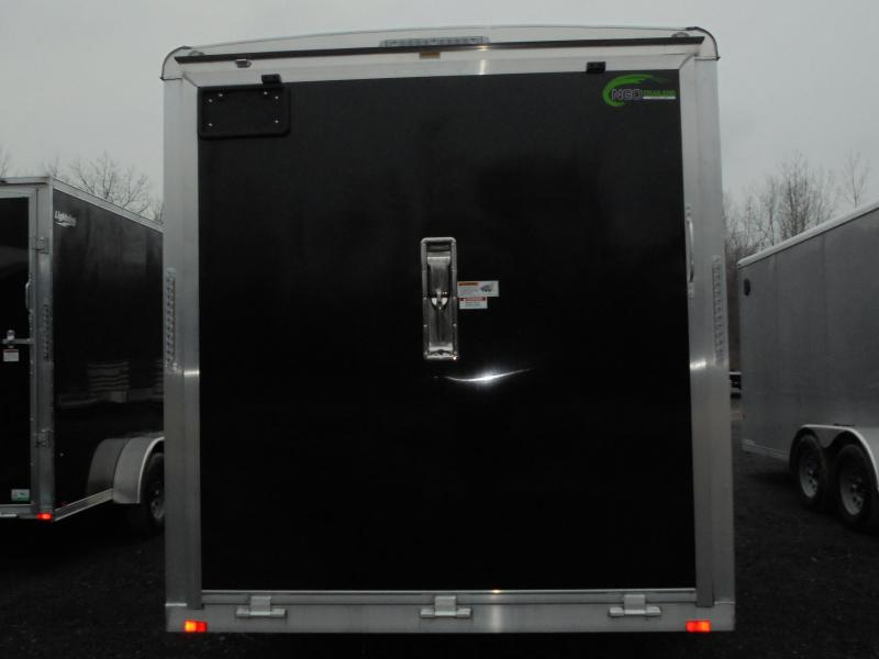 """2021 NEO 7X16 Round Top Enclosed Cargo Trailer w/ 6"""" Extra Height"""