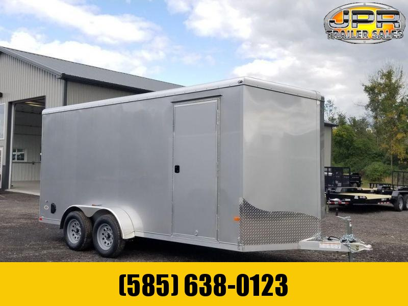"2021 NEO 7X16 Round Top Enclosed Cargo Trailer w/ 6"" Extra Height"