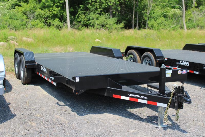 2021 Cam Superline 20 Ft Steel Deck Open Car Hauler