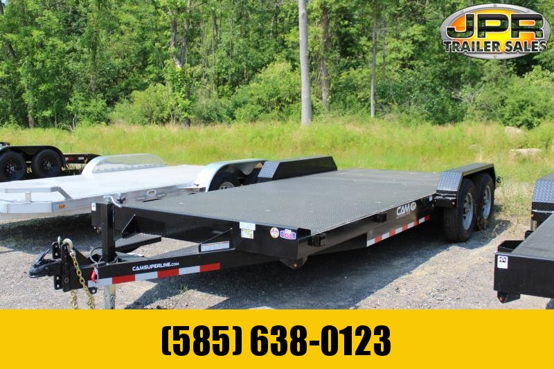2021 Cam Superline 20 Ft Steel Deck Open Car Hauler