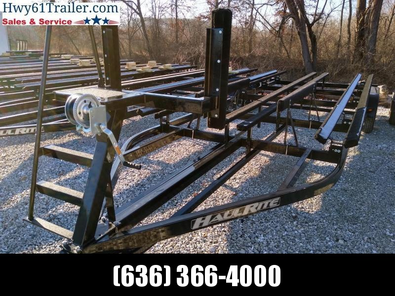 2021 Haul-Rite Trailers 22' Pontoon Trailer with Ladder and Brakes Watercraft Trailer