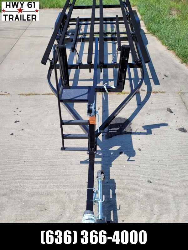 2022 Haul-Rite 22' Tritoon Pontoon Trailer w/brake and ladder