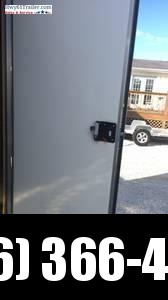"2020 ARISING 7X16 TA V-NOSE RAMP DOOR 7'6"" 3500 LB AXLES WHITE WHOLESALE PRICE"