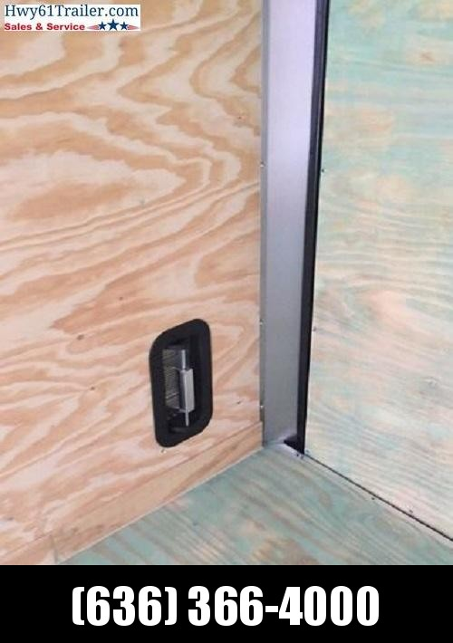 "2021 ARISING 7X14 TA V-NOSE RAMP DOOR 3500 LB AXLES 7'6"" WHITE WHOLESALE"