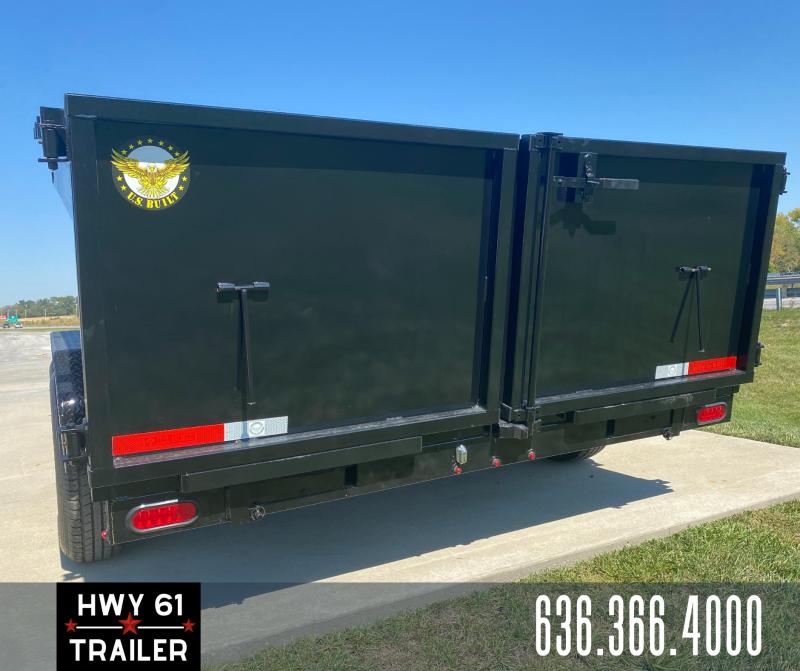 2022 US Built 7X14X3 TA Dump Trailer 16K 3' Sides