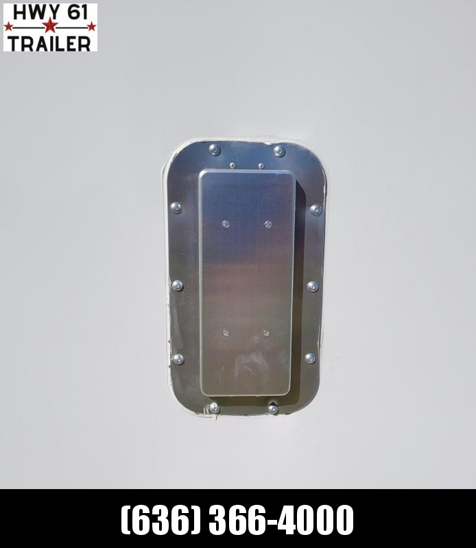 "2021 ARISING 8.5x16 TA 35K 7'6"" v-nose Pewter enclosed"