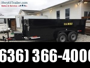 2020 US Built 7X14X3 TA DUMP TRAILER 14K AXLES 2' SIDES WHOLESALE PRICING!
