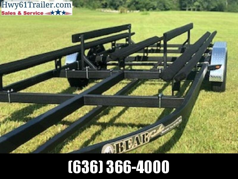 2021 Bear Trailers 22' Tritoon-Pontoon Trailer WHOLESALE PRICING