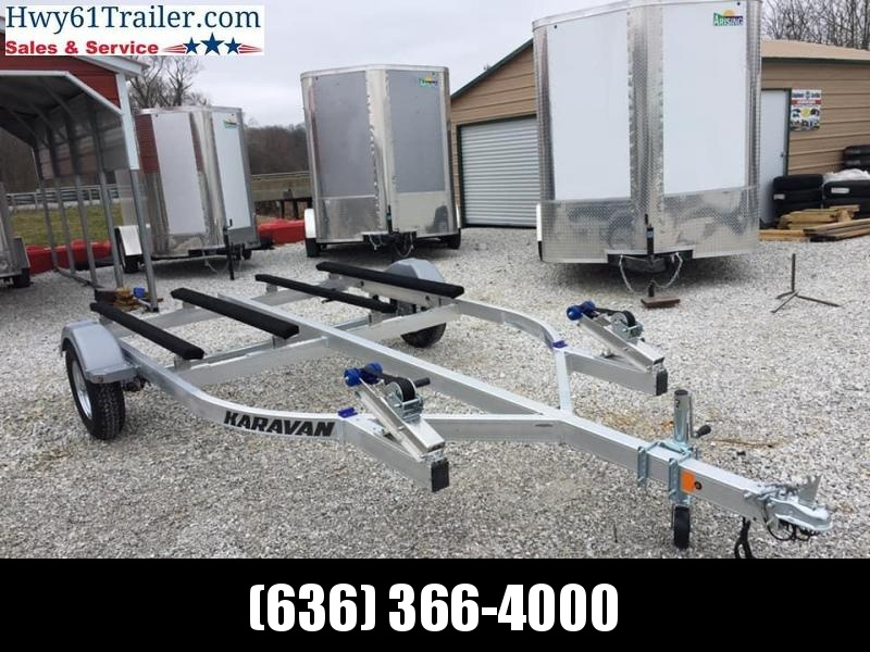 2020 KARAVAN Double Jet Ski Trailer 8.5X15 Watercraft Trailer