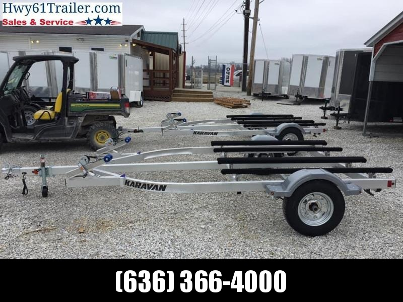 2021 Karavan double jet ski trailer 8.5x15 watercraft trailer