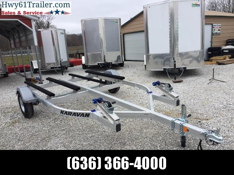 2021 KARAVAN Double Jet Ski Trailer 8.5X15 Watercraft Trailer