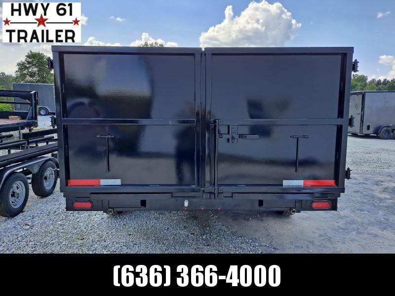 2022 US Built 7X14X4 TA dump trailer 16K 4' Sides