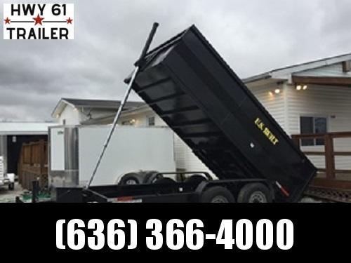 2022 US Built 7X14X2 TA dump trailer 16K 2' sides