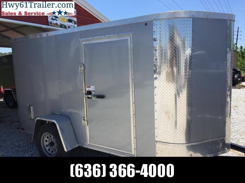 "2020 ARISING 5X10 SA V-nose rear ramp 5'6"" SILVER WHOLESALE PRICE!!!"