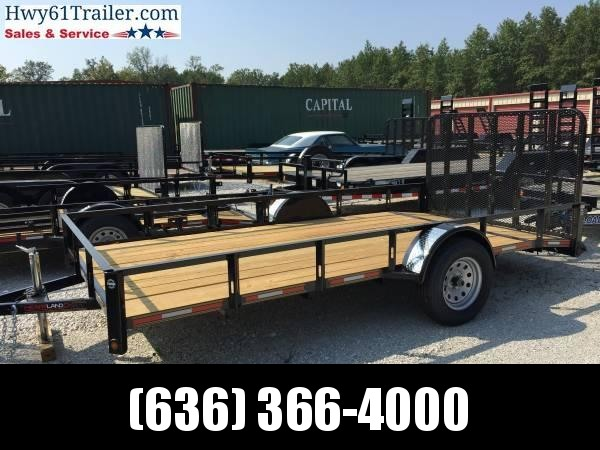 2020 HEARTLAND 77X10 SA 3500 LB AXLE 4' NON-SPRING LOADED GATE LIFETIME WARRANTY