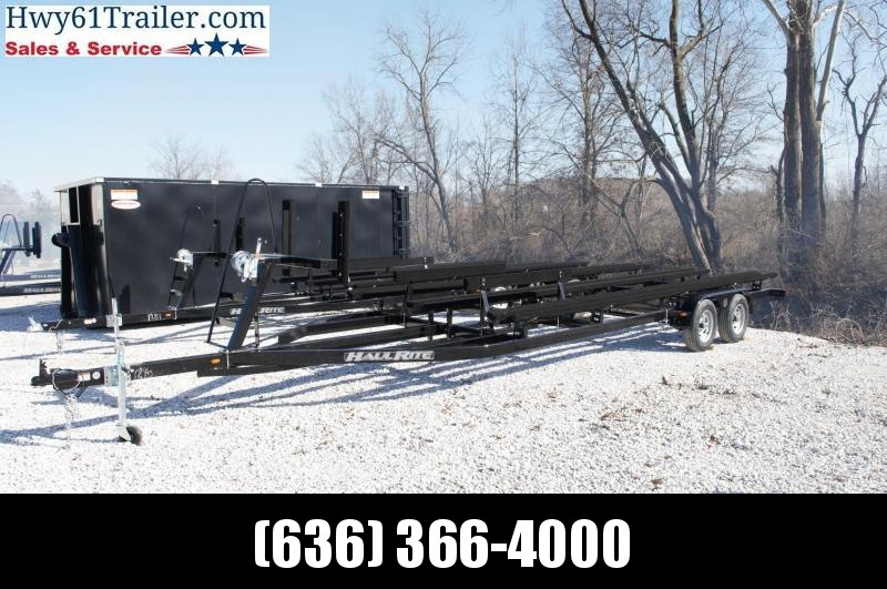 2021 Haul-Rite Trailers 24' Pontoon Trailer with Ladder and Brakes Watercraft Trailer