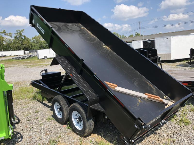 2018 Bri-Mar DT716LPHD-14 ( 7 x 16) 14000# GVWR Dump Trailer