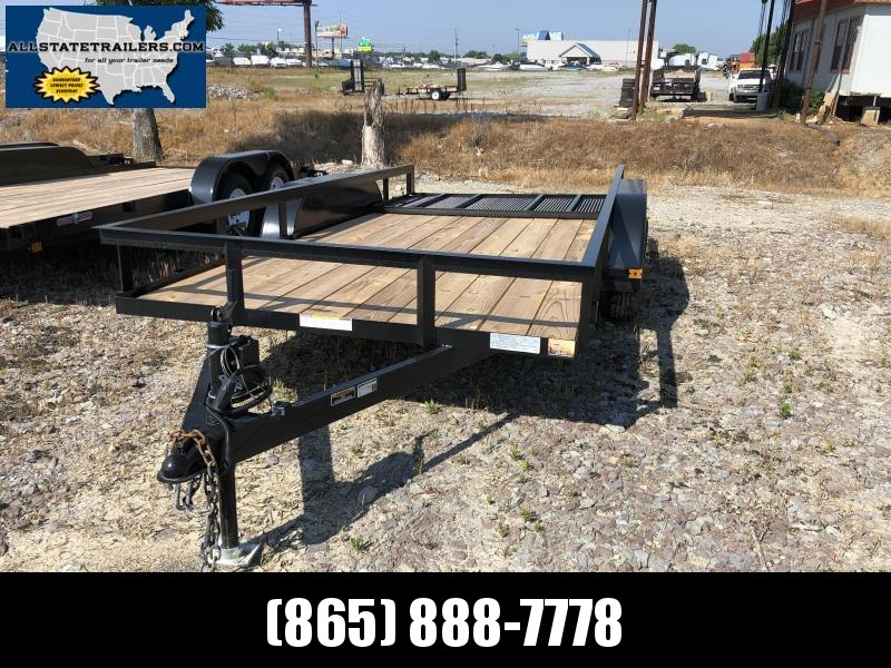 "2021 (6'4"" X 14) Tandem Currahee LD614 Utility Trailer"