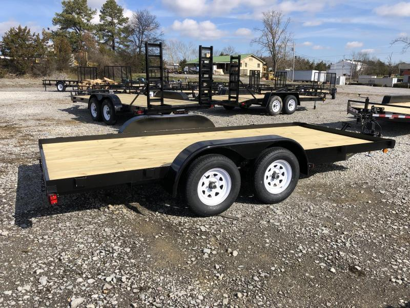 2021 C716 ( 7 X 16) Currahee Car / Racing Trailer