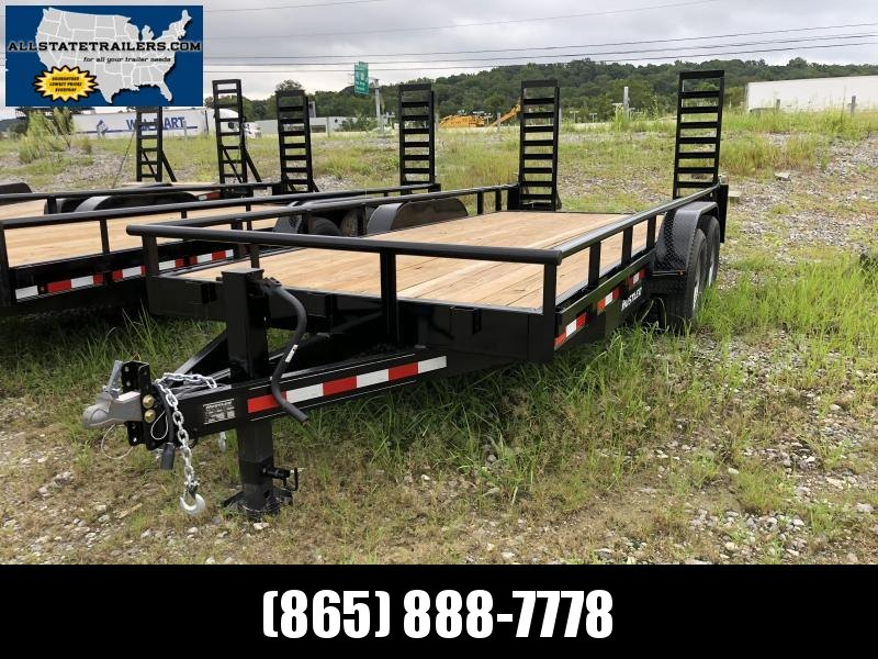 2018 Hustler (7 X 18) 14000# GVWR UT1883EH Equipment Trailer