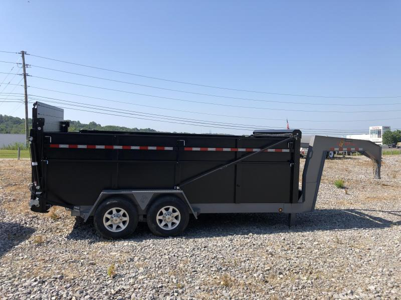 2021 B-Wise (7 x 16) DUG16-15 Ultimate Gooseneck Dump Trailer