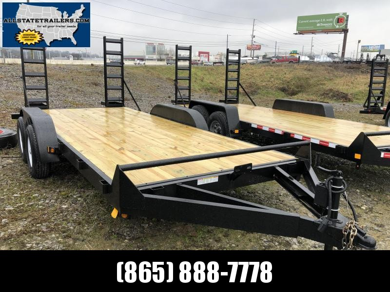 2021  (7 X 16) 10000# GVWR Currahee E716.10K Equipment Trailer