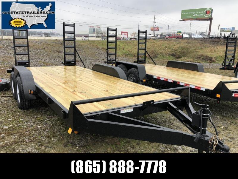 2021  (7 X 16) 10000# GVWR Currahee E716.10K Equipment Trailer