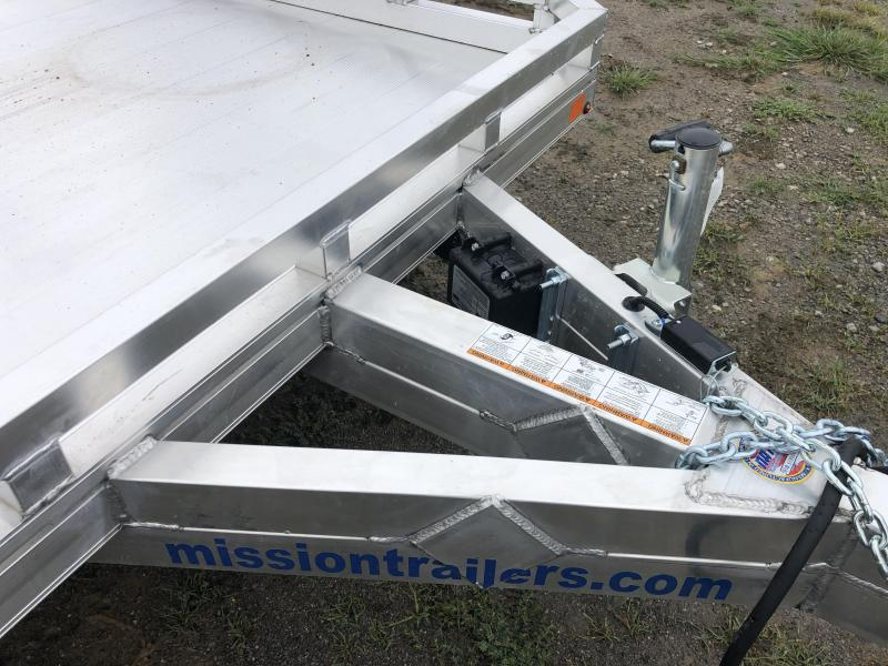 2020 Mission MU6.5X20FA-TA2.0 Utility Trailer