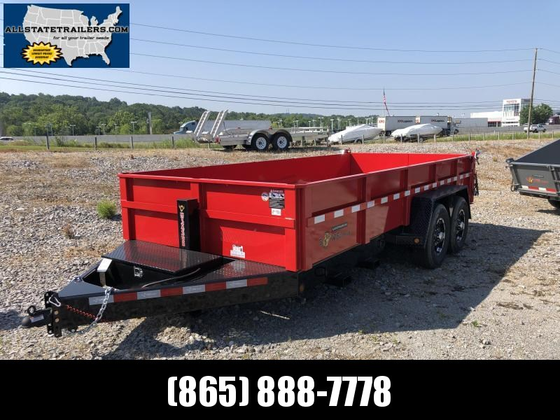 2019 B-Wise Dump Trailer Heavy Duty 7 x 16