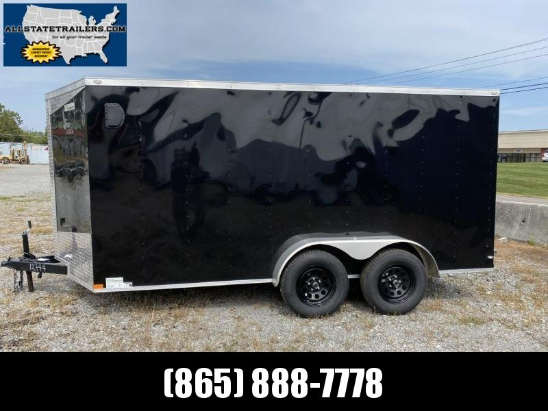 2021 Lark (7 x 14) 7000#GVWR Ramp Door VT714TA Enclosed Cargo Trailer